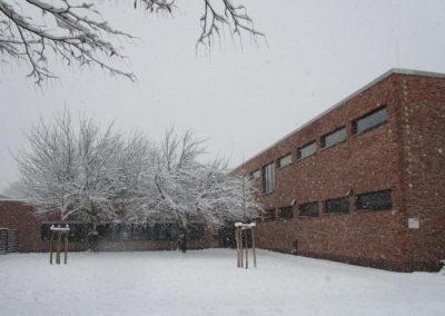 Schule im Schnee 2019