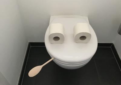 Badezimmer Kunst Leonard