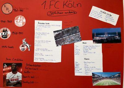 1.FC Köln Plakat von Moritz