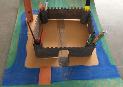 Burg mit Klorollen Raphael 2