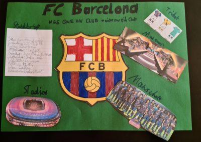 Lernplakat FC Barcelona Severin