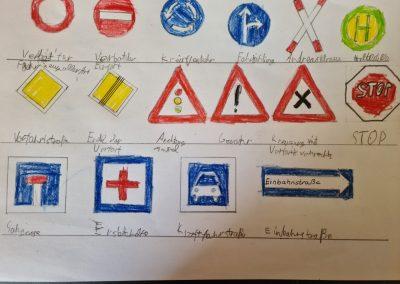 Verkehrsschilder Severin