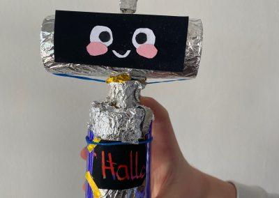 Linas Robbie Roboter 1