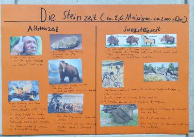Steinzeit Plakat von Jonas